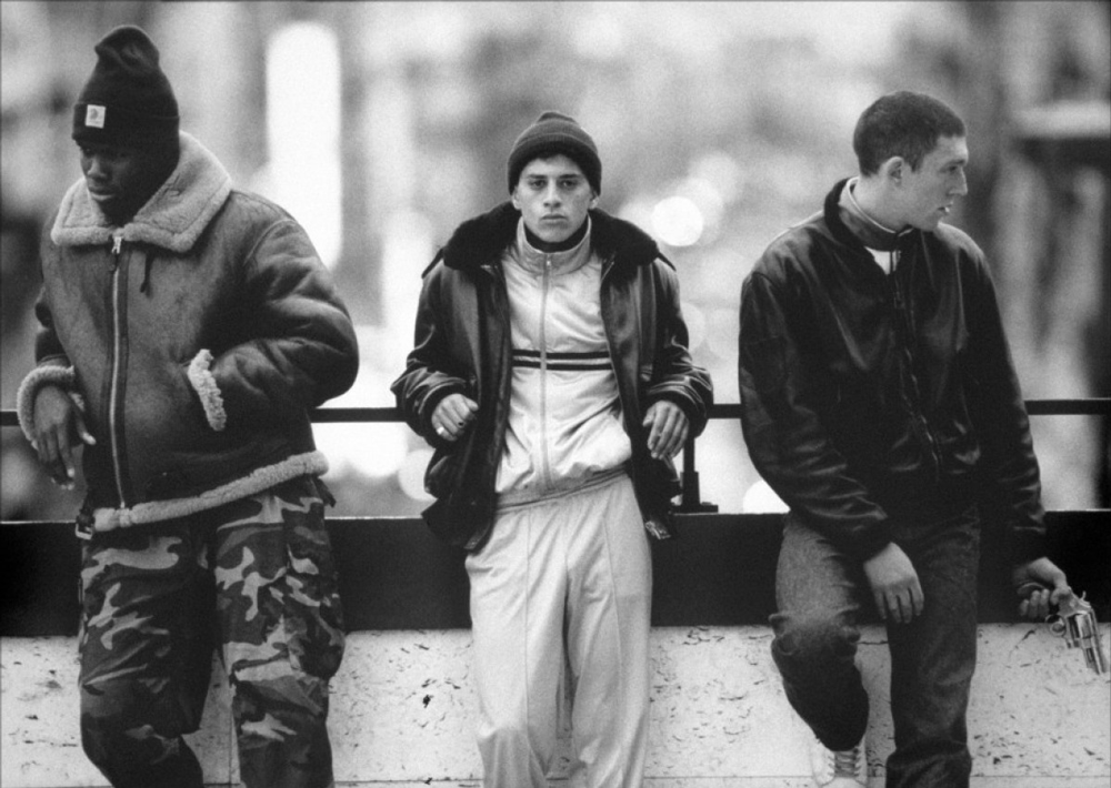 La Haine: Hubert, Said ve Vinz.