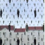 Gonconda (1953)_Rene Magritte