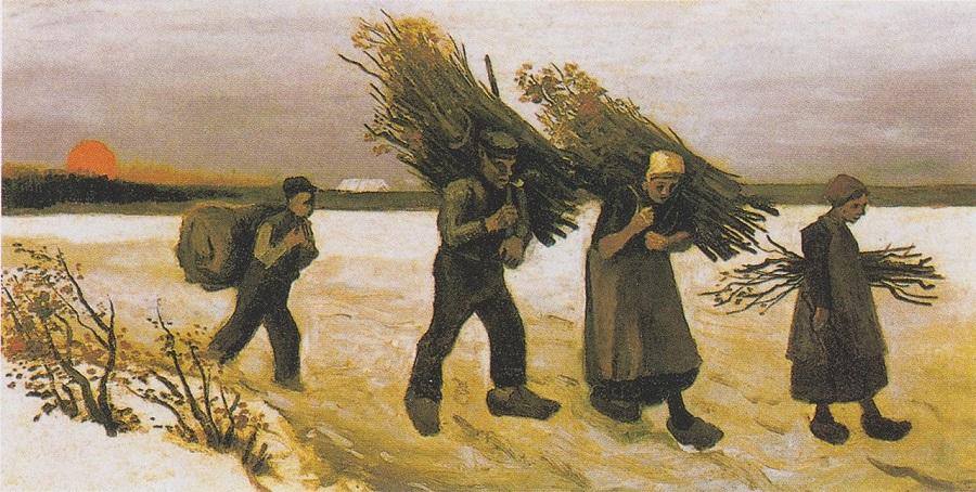 Karda Odun Toplayanlar, 1884