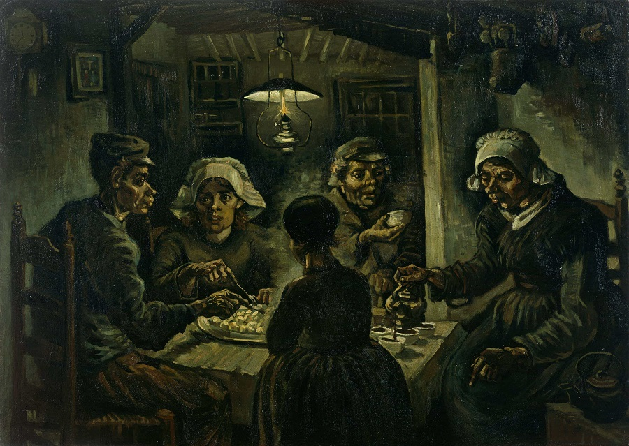 The Potato Eaters_1885